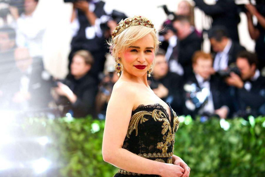 Emilia Clarke au Met Gala 2018