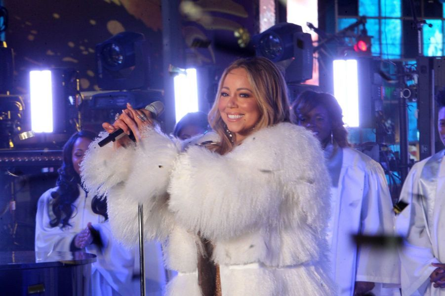Mariah Carey à Time Square