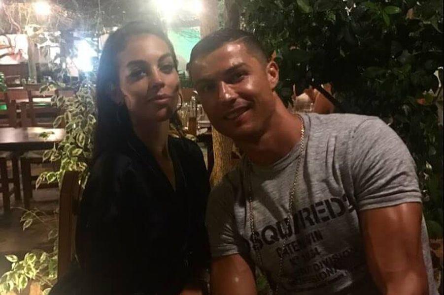 Cristiano Ronaldo et Georgina Rodriguez, le 13 juillet 2017.