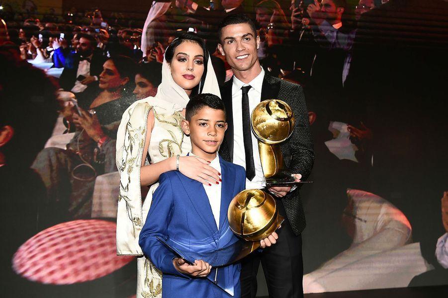 Cristiano Ronaldo élu meilleur joueur de l'année 2018 à Dubaï jeudi 3 janvier 2019