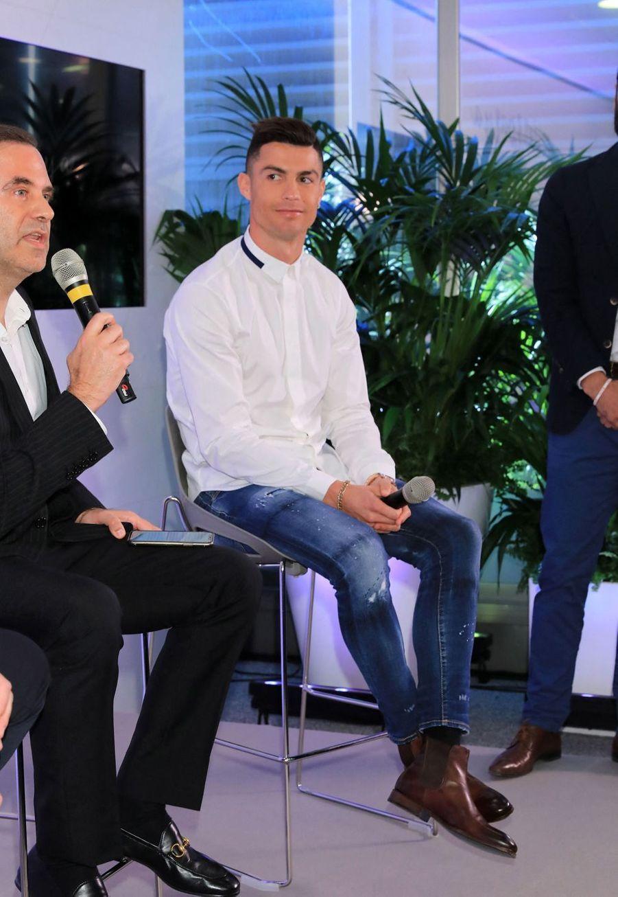 Cristiano Ronaldoà Madrid, le 18 mars 2019