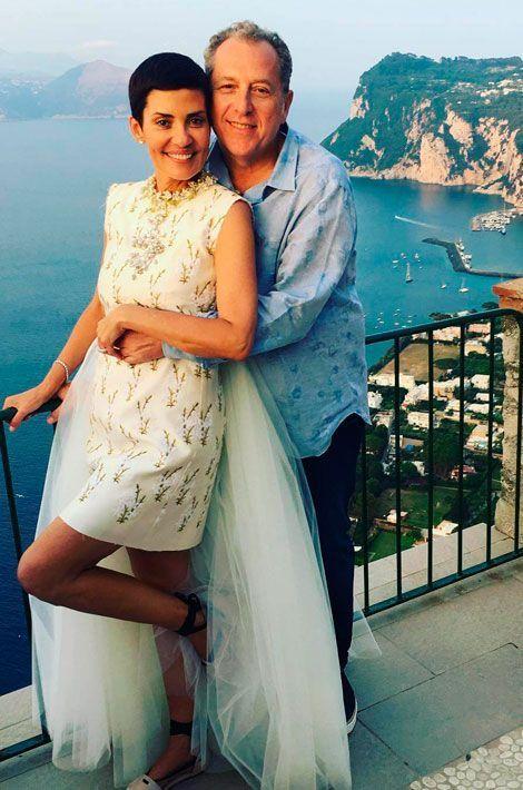Cristina Cordula et son mari Frédéric Cassin