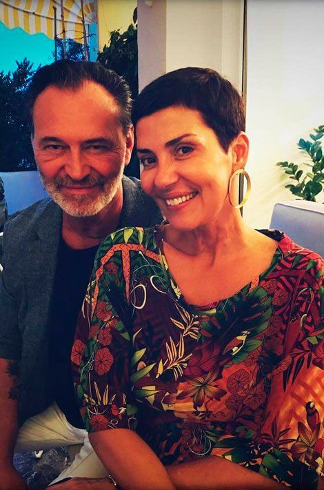 Cristina Cordula et un ami