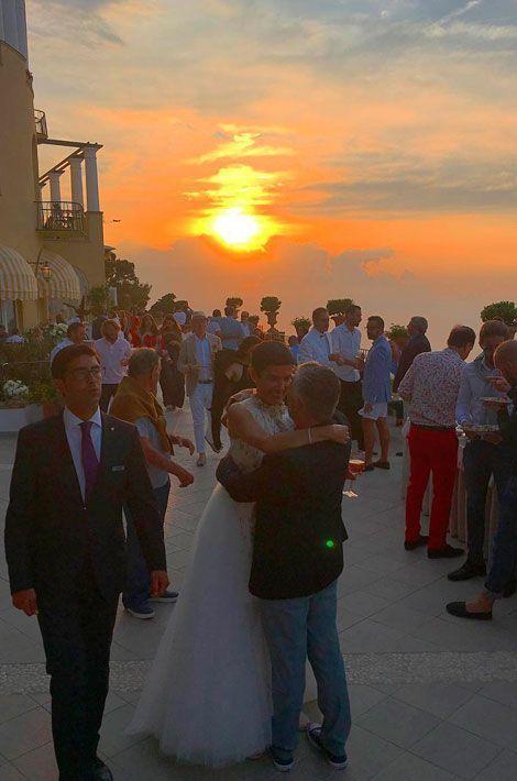 Le mariage de Cristina Cordula