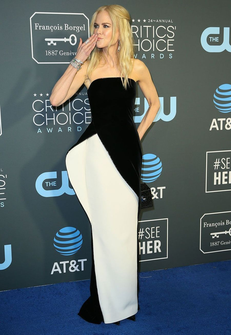 Nicole Kidman auxCritics' Choice Awards 2019