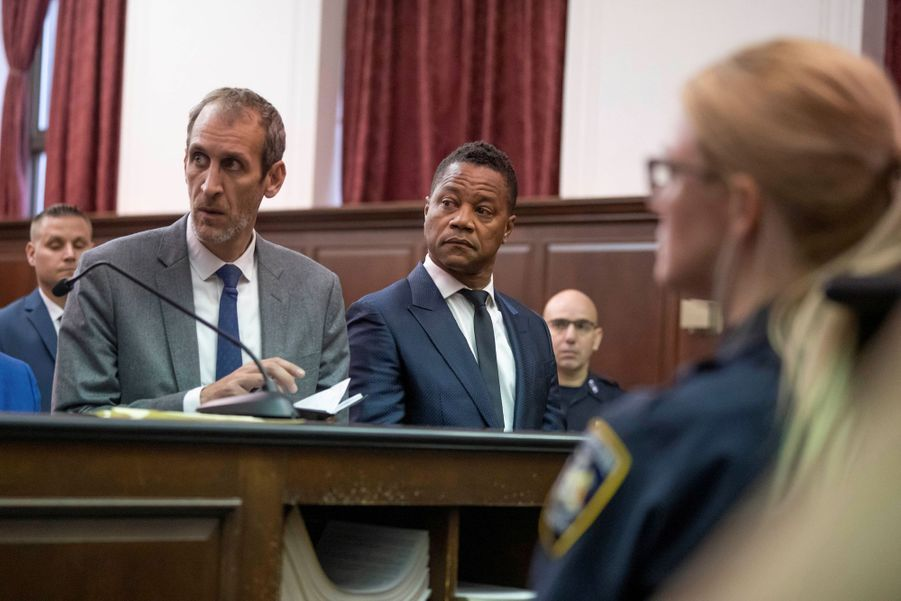 Cuba Gooding Jr. comparait dans un tribunal de New York le 13 juin 2019