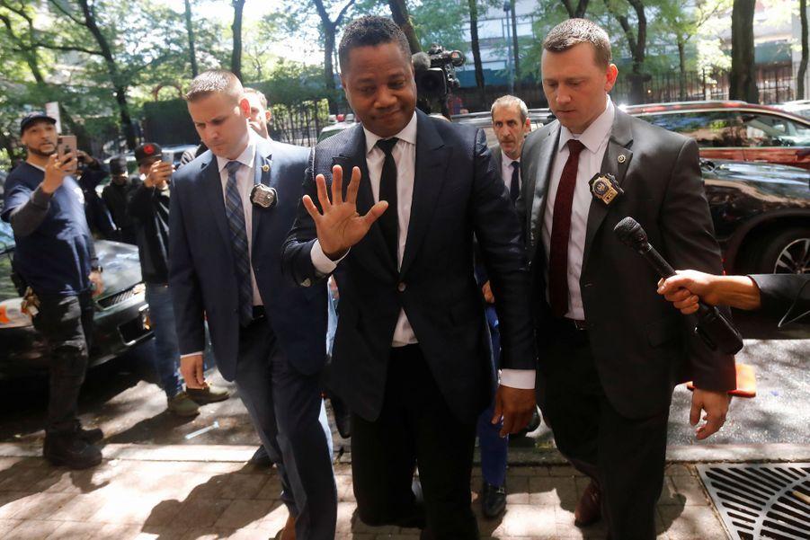 Cuba Gooding Jr. se rend dans un tribunal de New York le 13 juin 2019