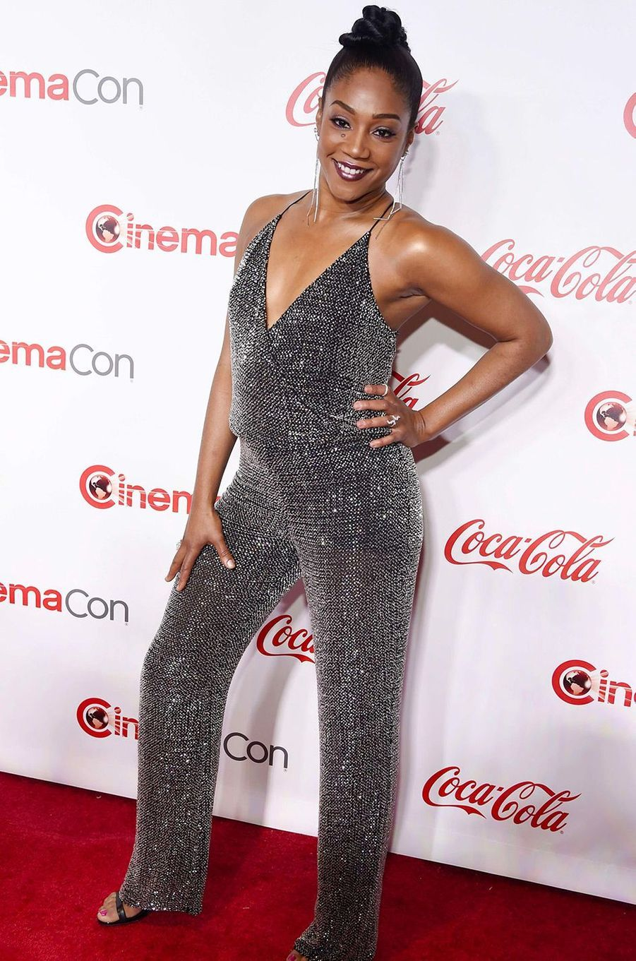 Tiffany Haddish au CinemaCon de Las Vegas, jeudi 26 avril 2018