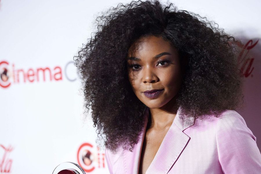 Gabrielle Union au CinemaCon de Las Vegas, jeudi 26 avril 2018