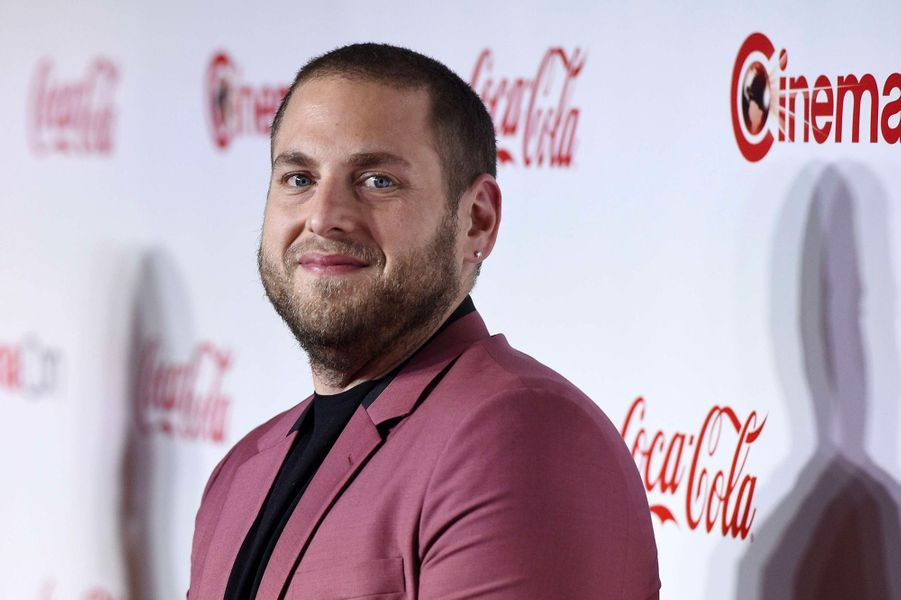 Jonah Hill au CinemaCon de Las Vegas, jeudi 26 avril 2018