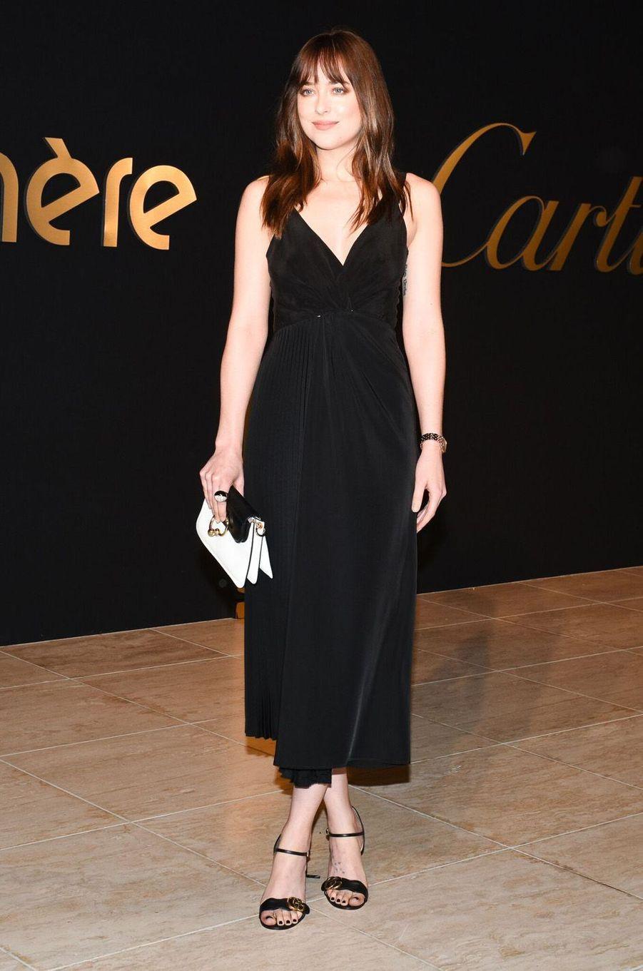 Dakota Johnson à la soirée Panthère de Cartier.