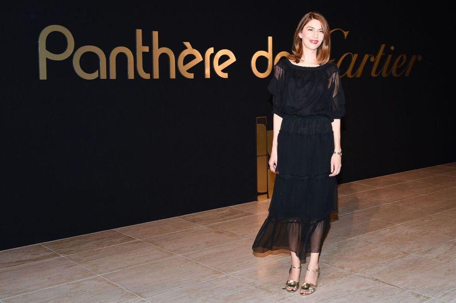 Sofia Coppola à la soirée Panthère de Cartier.