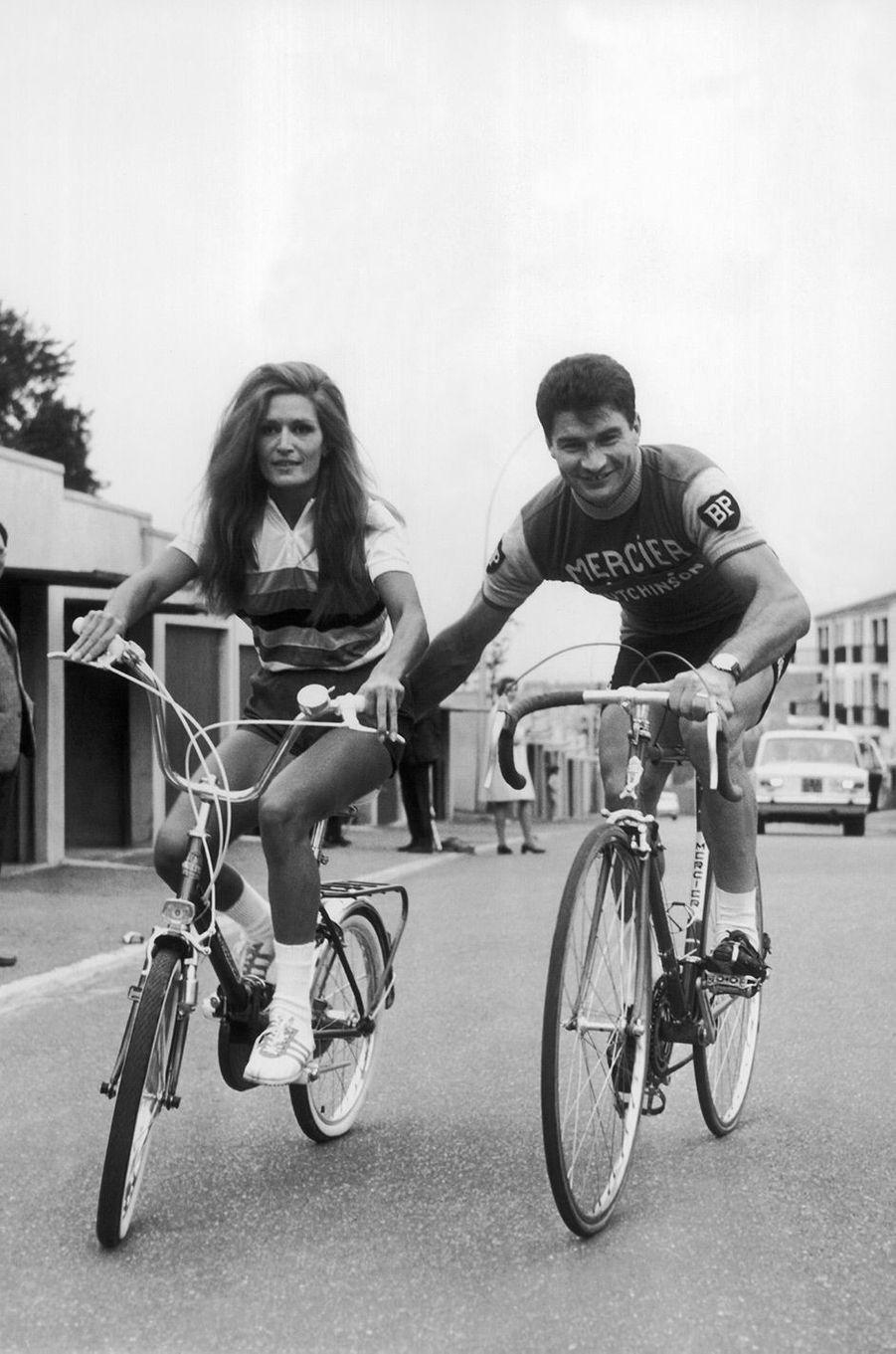 Dalida avec Raymond Poulidor en 1968