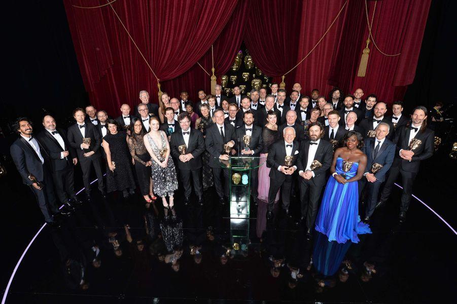 Tous les gagnants de la cérémonie des BAFTA 2017.