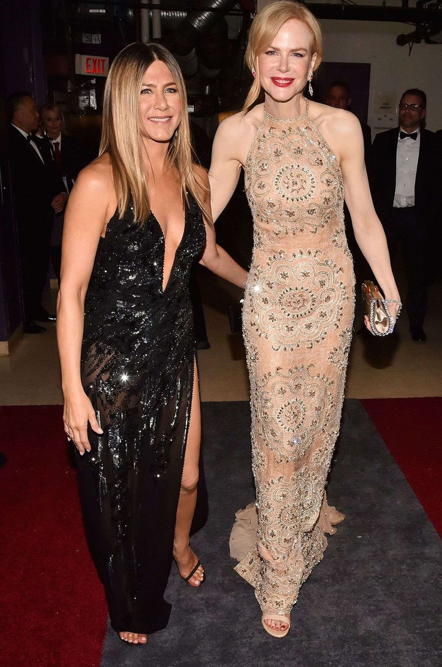 Jennifer Aniston et Nicole Kidman.