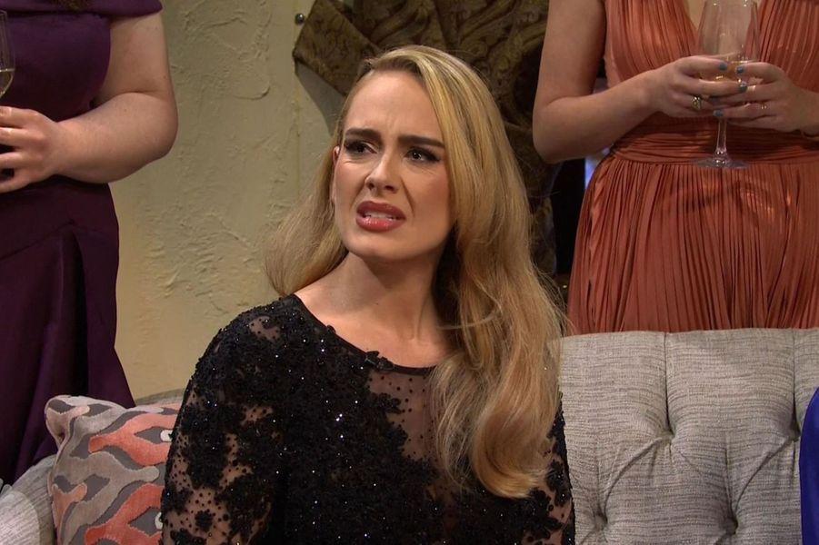 Adeledans l'émission«Saturday Night Live» diffusée le 24 octobre 2020