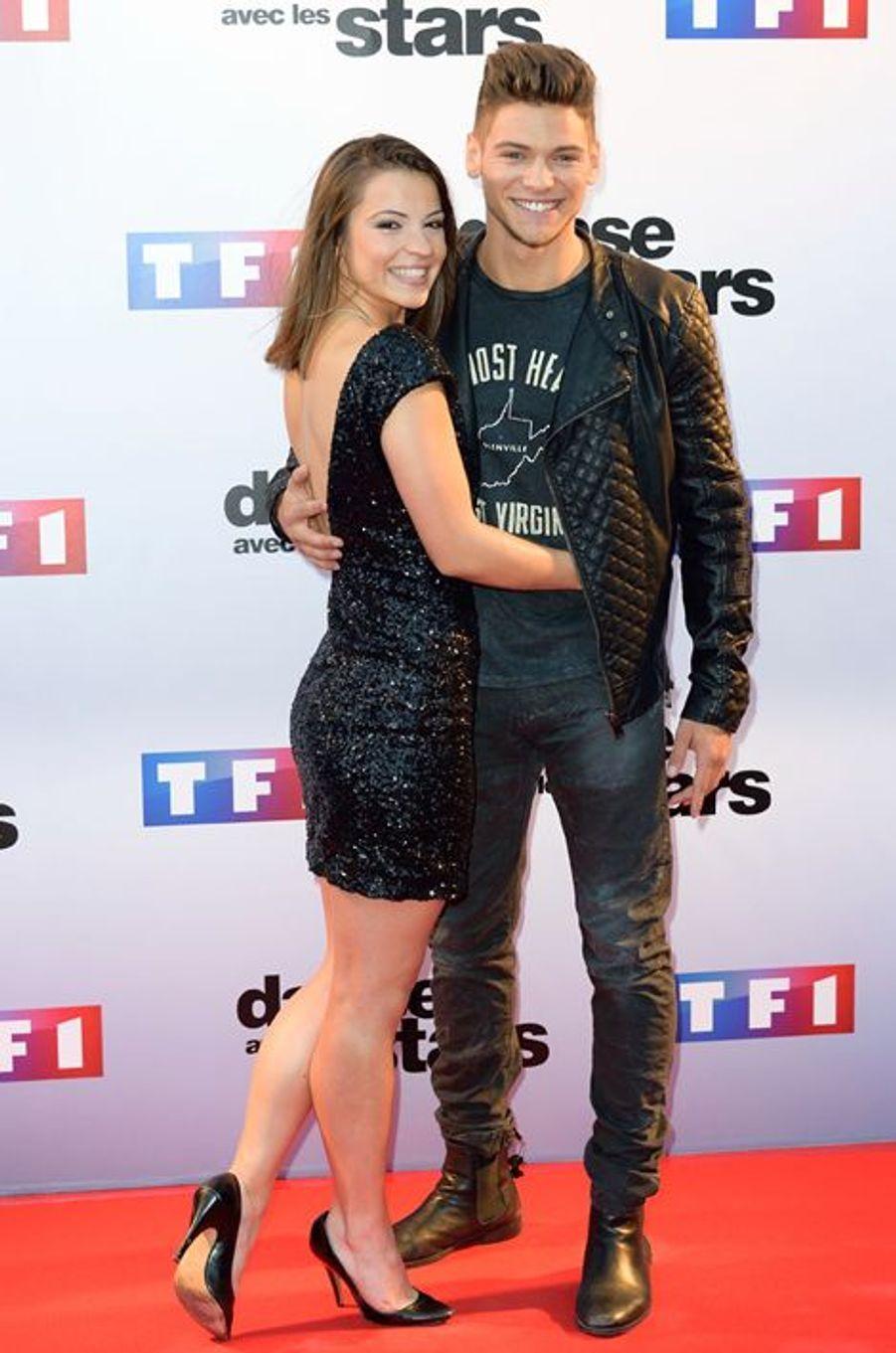 Danse avec les stars 5 : l'acteur Rayane Bensetti et sa partenaire Denitsa Ikonomova.