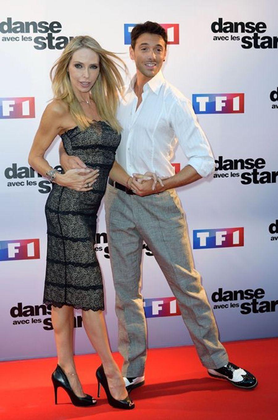 Danse avec les stars 5 : l'actrice Tonya Kinzinger et le danseur Maxime Dereymez