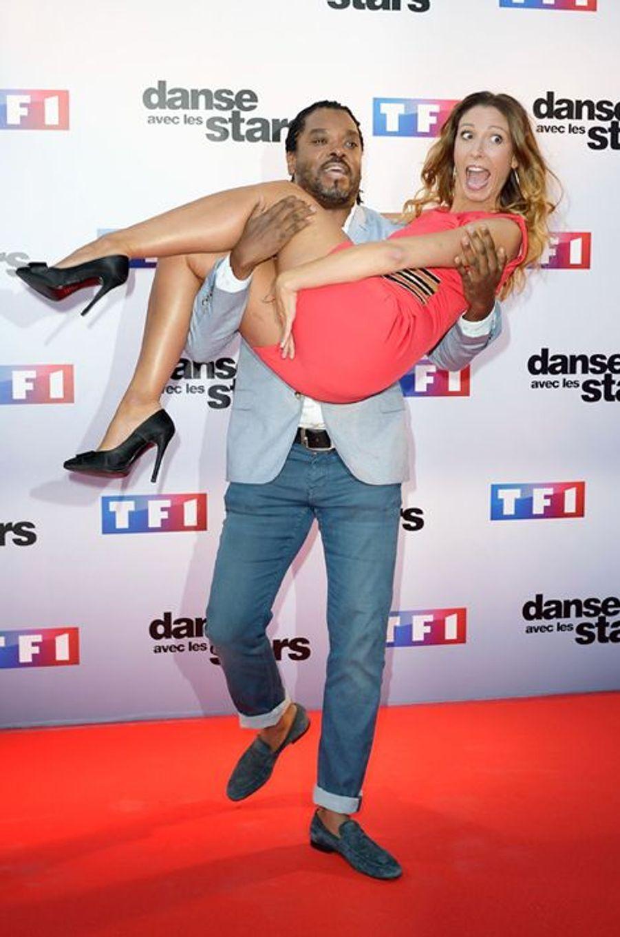 Danse avec les stars 5 : l'humoriste Anthony Kavanagh et la danseuse Silvia Notargiacomo.