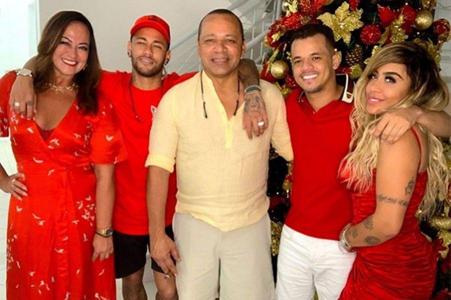 Neymar et sa famille