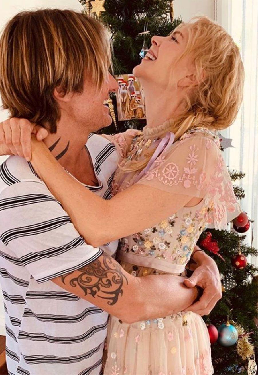 Nicole Kidman et son épouxKeith Urban