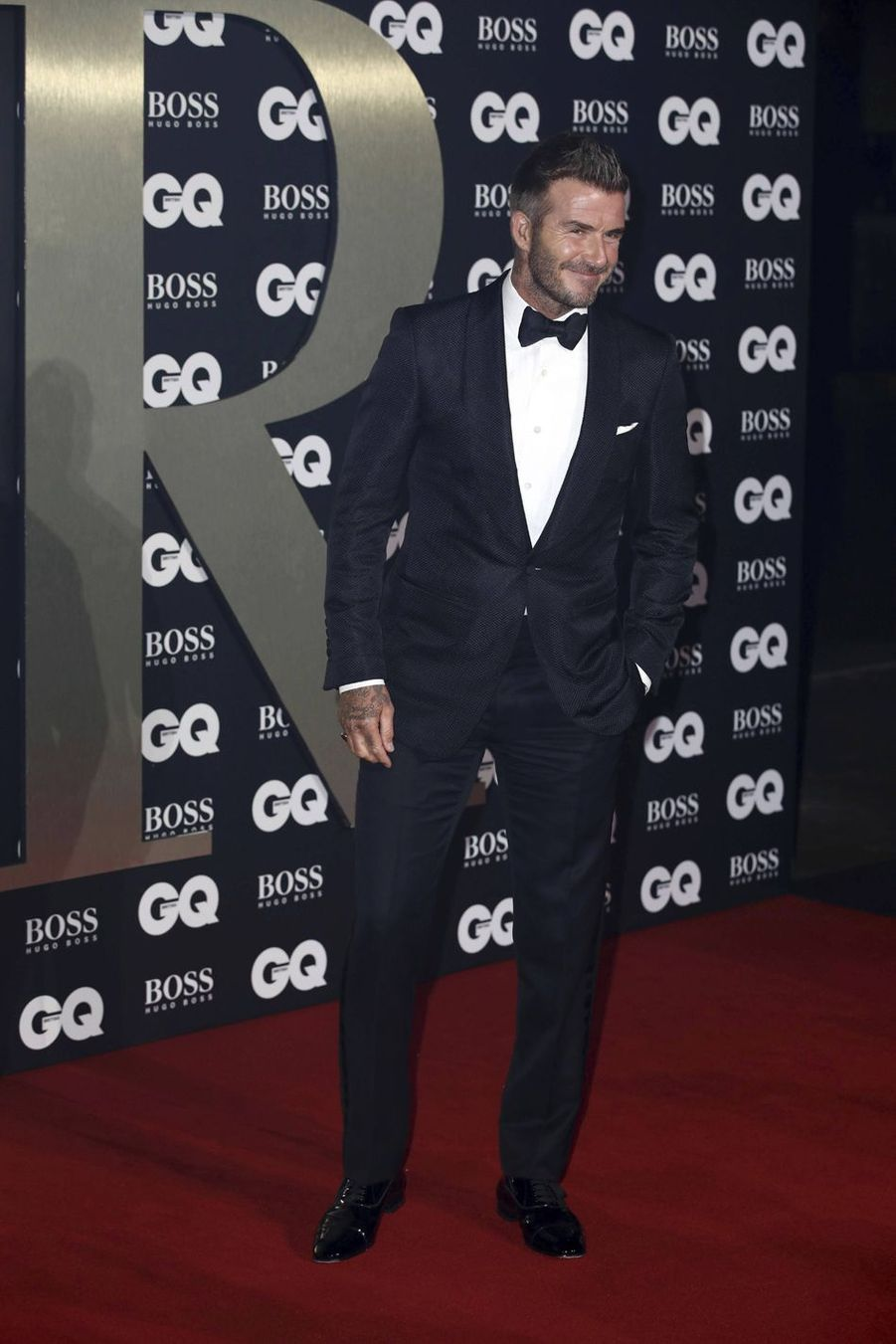 "David Beckham à la soirée ""GQ Men Of The Year"" 2019"
