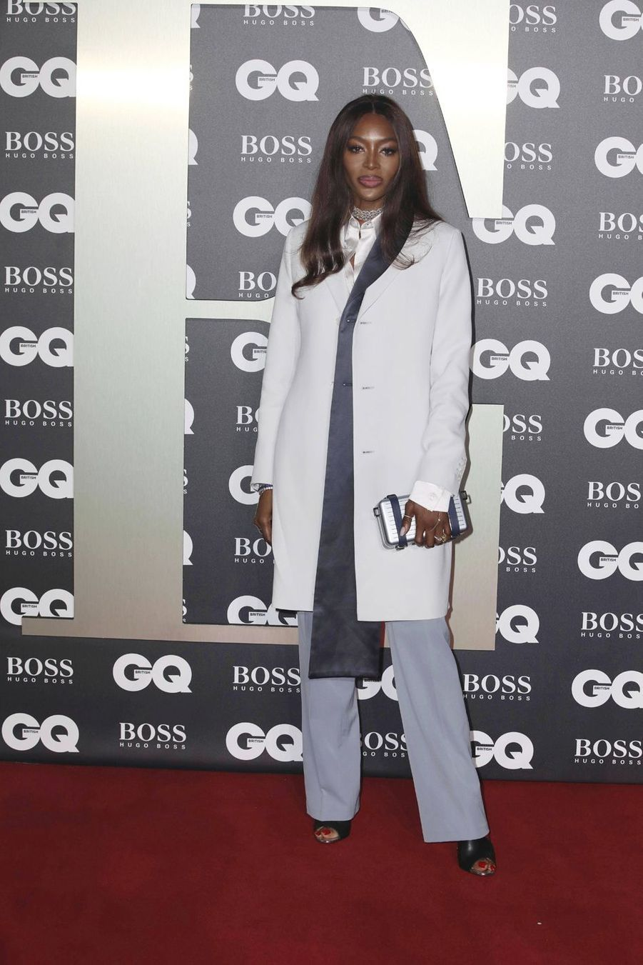 "Naomi Campbell à la soirée ""GQ Men Of The Year"""
