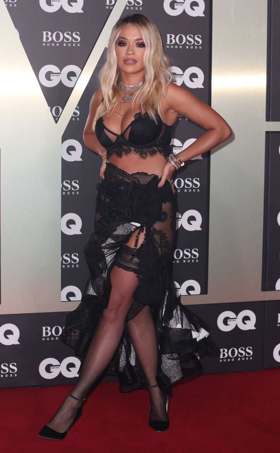 "Rita Ora à la soirée ""GQ Men Of The Year"""