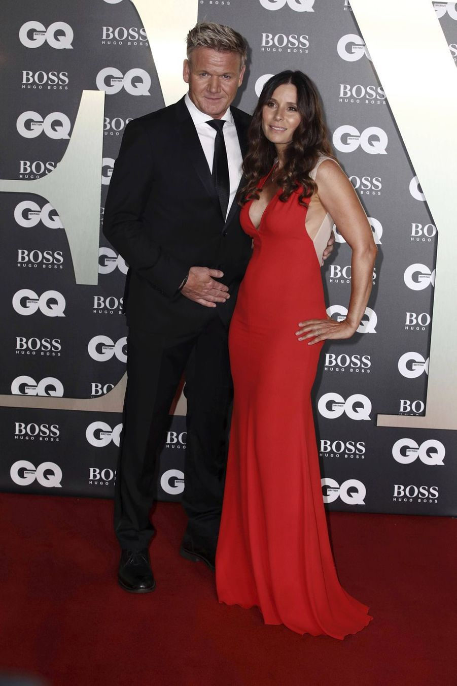 "Gordon Ramsay et sa compagne Tana Ramsay à la soirée ""GQ Men Of The Year"""