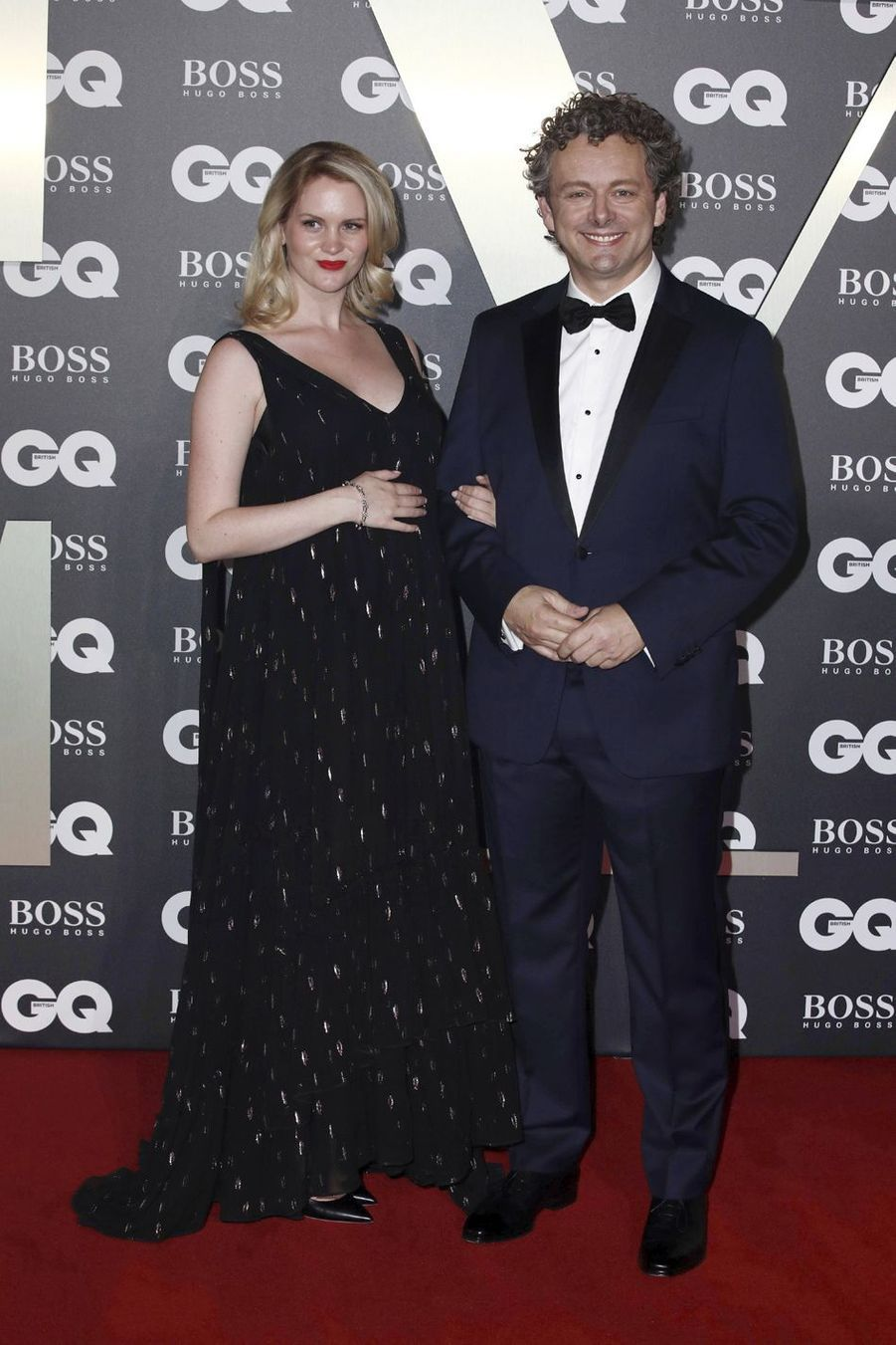 "Michael Sheen et sa compagne Anna Lundberg à la soirée ""GQ Men Of The Year"""