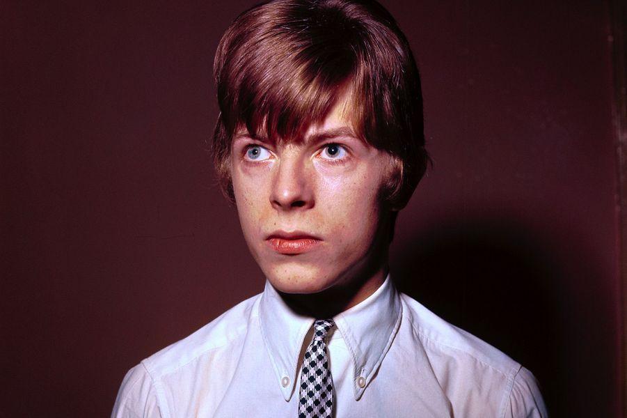 David Bowie en 1965.
