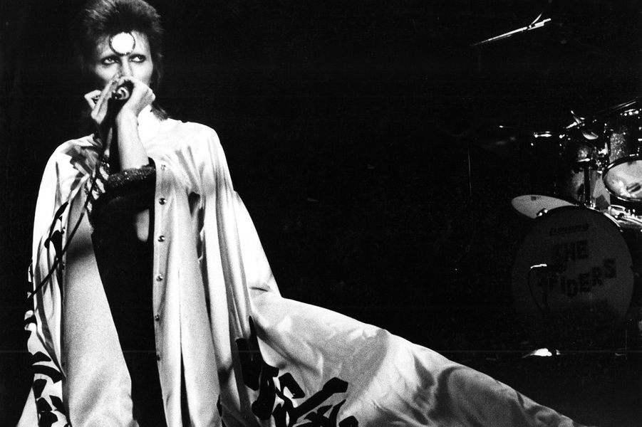 David Bowie en Ziggy Stardust.