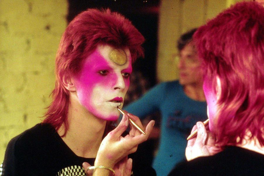 David Bowie en mai 1973.