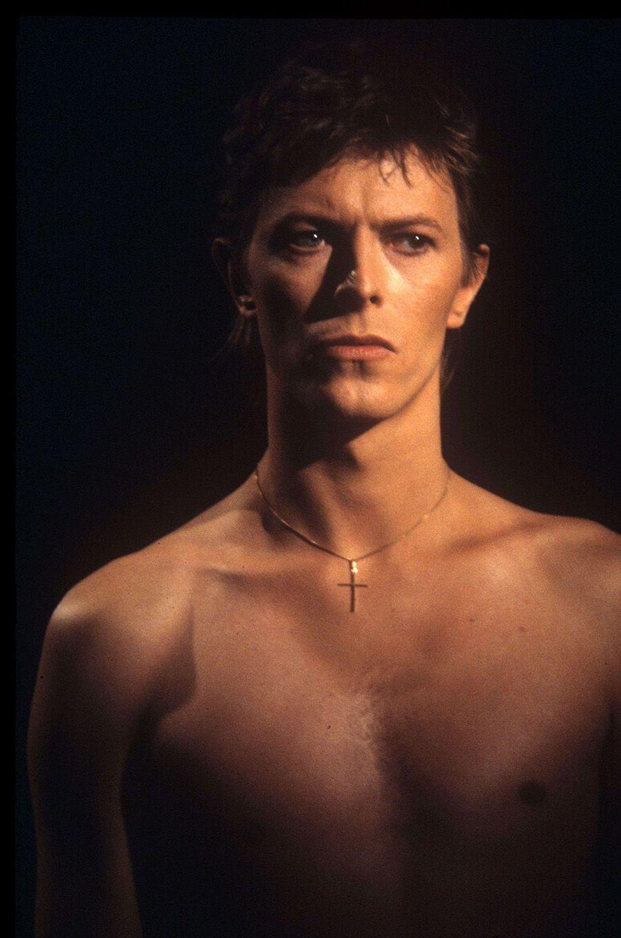 David Bowie en 1977.