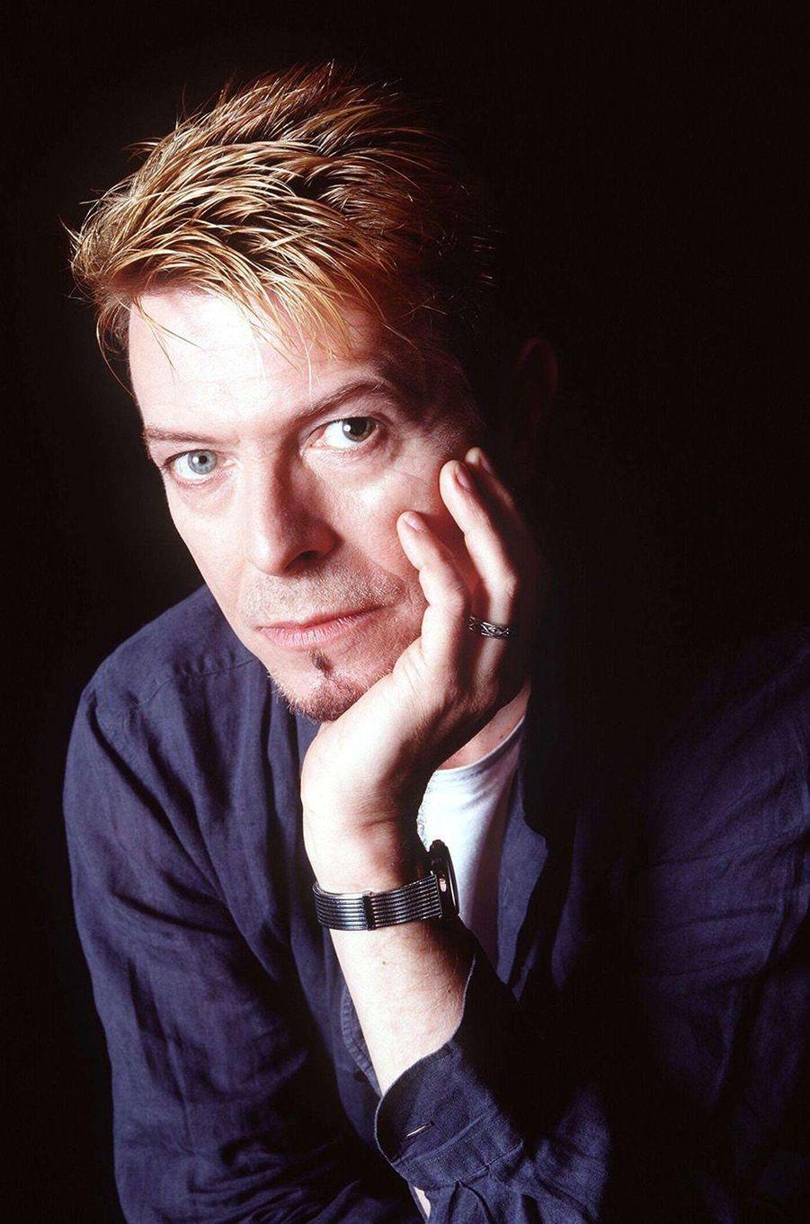 David Bowie en 1997.
