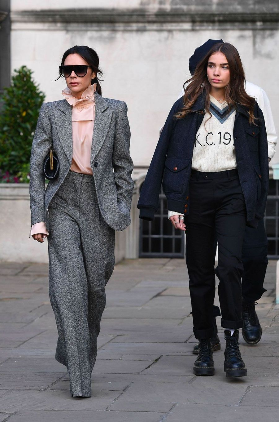 Victoria Beckham et Hana Cross
