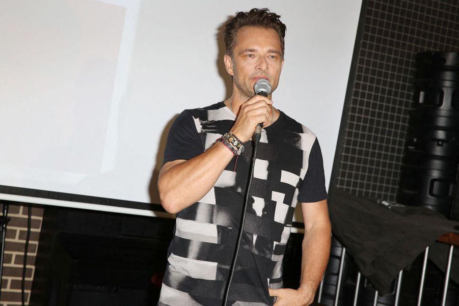 David Hallyday àBoulogne-Billancourt, le 25 juin 2019