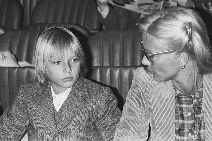 David Hallyday avec Sylvie Vartan en 1979