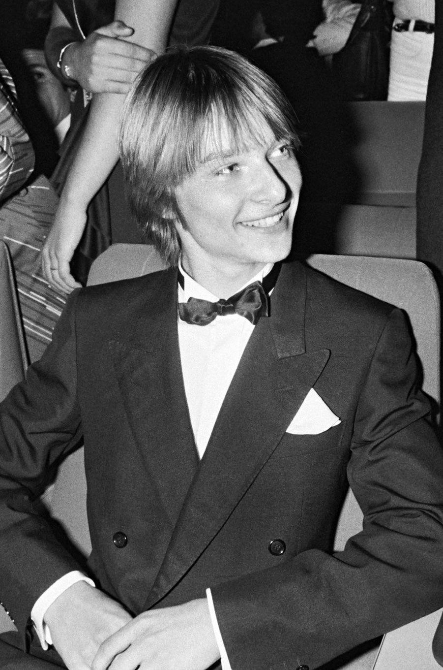 David Hallyday en 1983