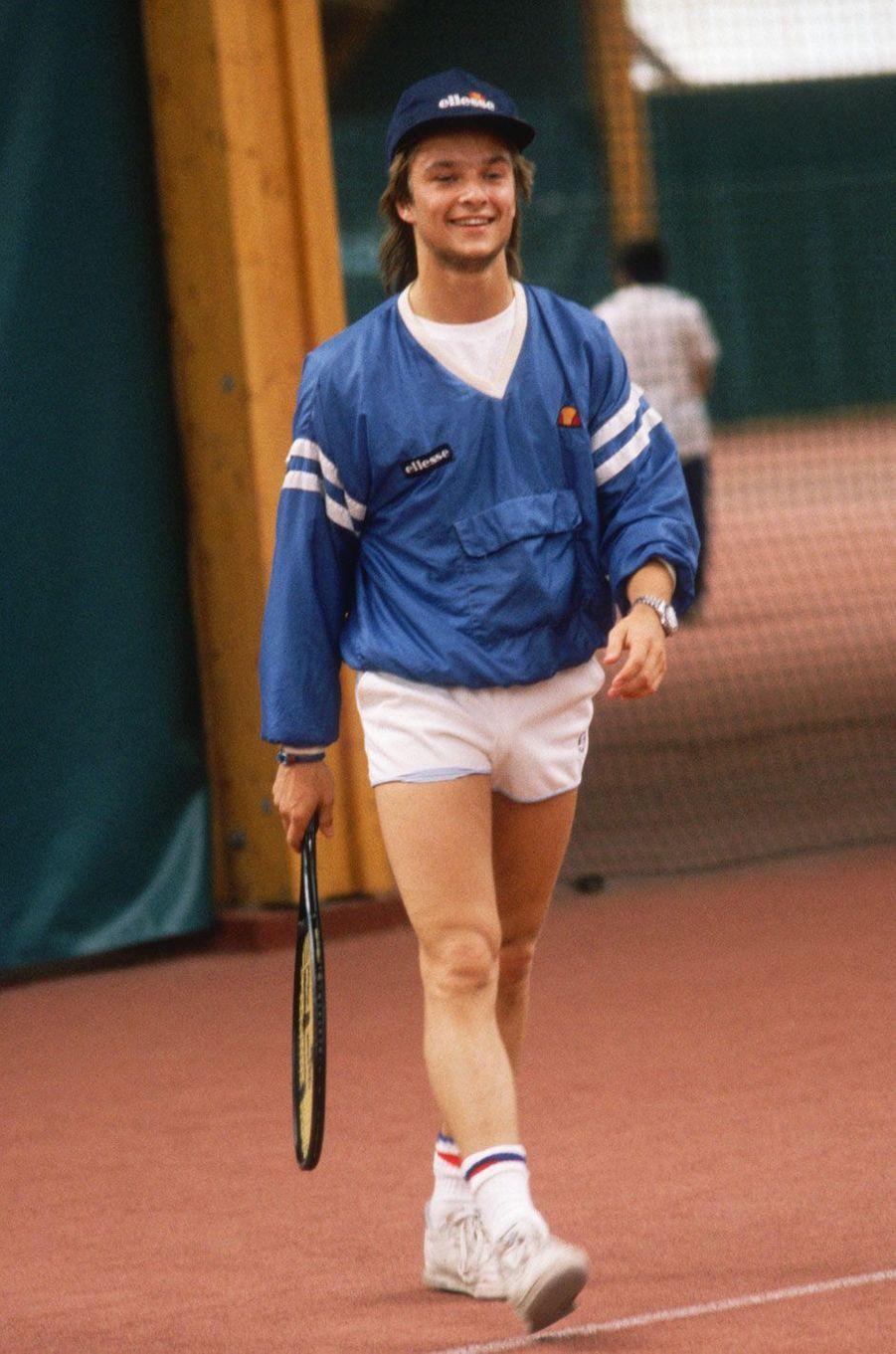 David Hallyday en 1986