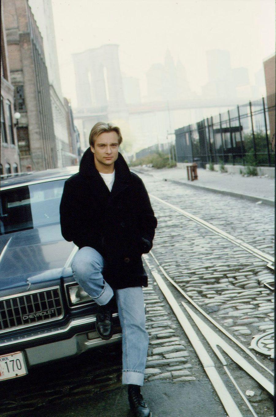 David Hallyday en 1993