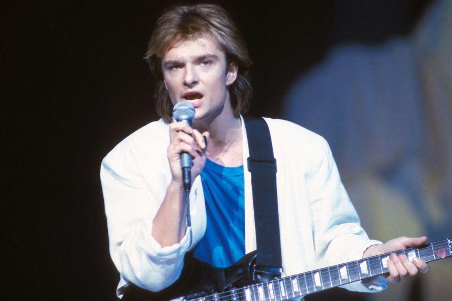 David Hallyday dans les années 80