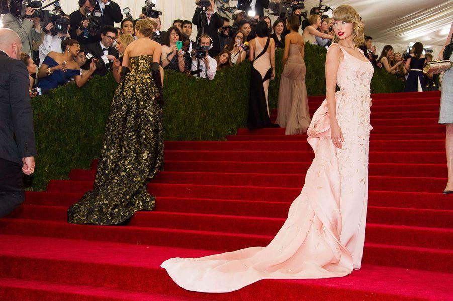 Taylor Swift au Met Gala 2014.