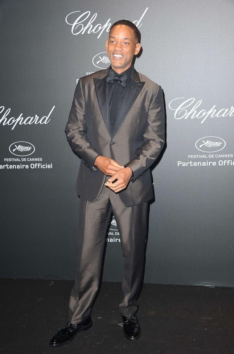 Will Smithà la soirée Chopard, à Cannes, le 19 mai 2017.