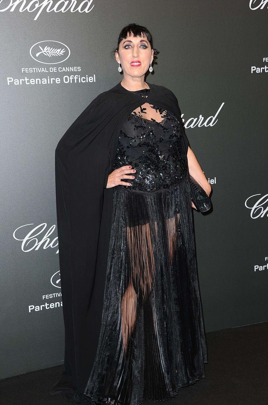 Rossy de Palmaà la soirée Chopard, à Cannes, le 19 mai 2017.