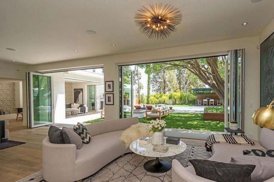 La villa de Cindy Crawford et Rande Gerber à Beverly Hills, en Californie.