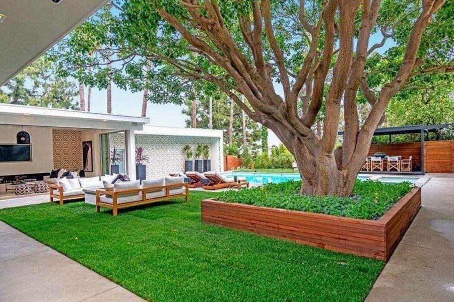 La villa de Cindy Crawford et Rande Gerber à Beverly Hills.