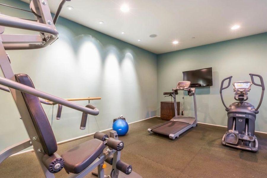 La nouvelle villa de Justin Bieber comporte une salle de sport pivée.