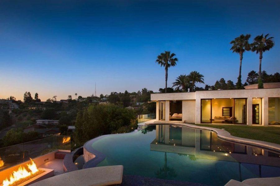 La nouvelle villa de Justin Bieber comporte une piscine à débordement.