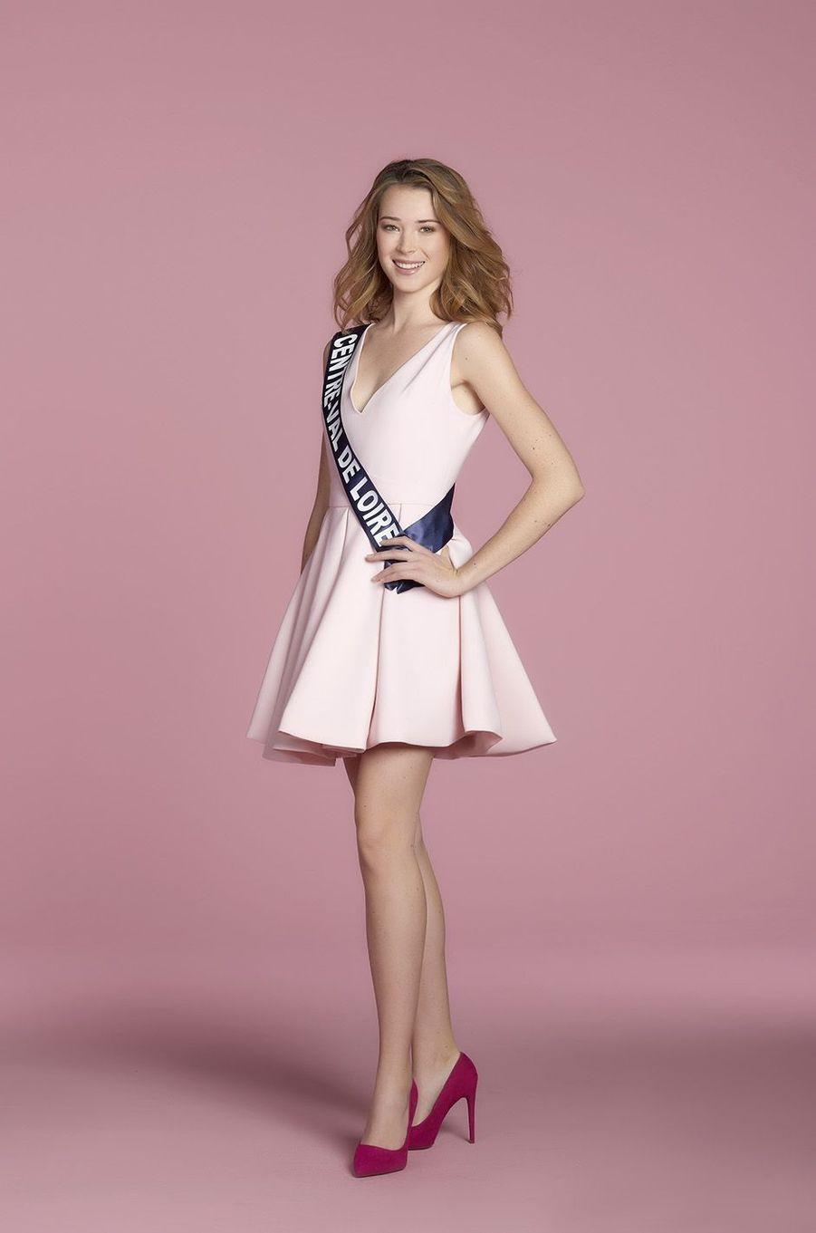 Marie Thorin, Miss Centre-Val de Loire.